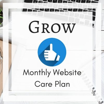 Grow Monthly Website Care Plan for WordPress