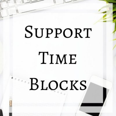 Website Support Time Blocks by Impulse Impressions